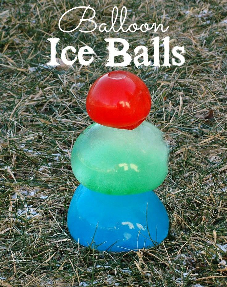 Balloon Ice Balls