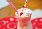 strawberry float