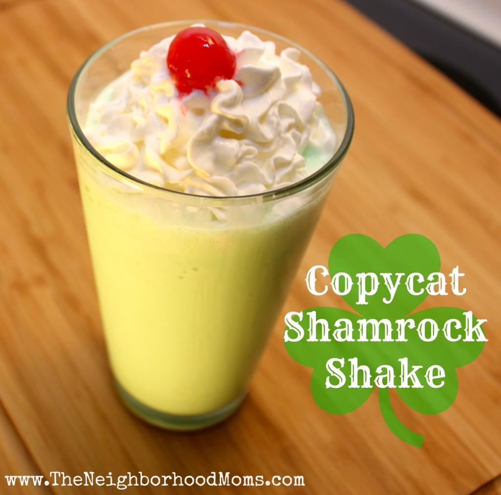 Copycat Shamrock Shake Recipe