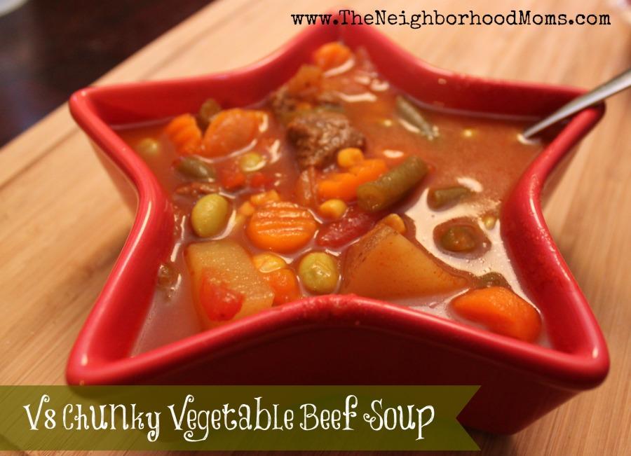 V8 Vegetable Beef Soup Recipe