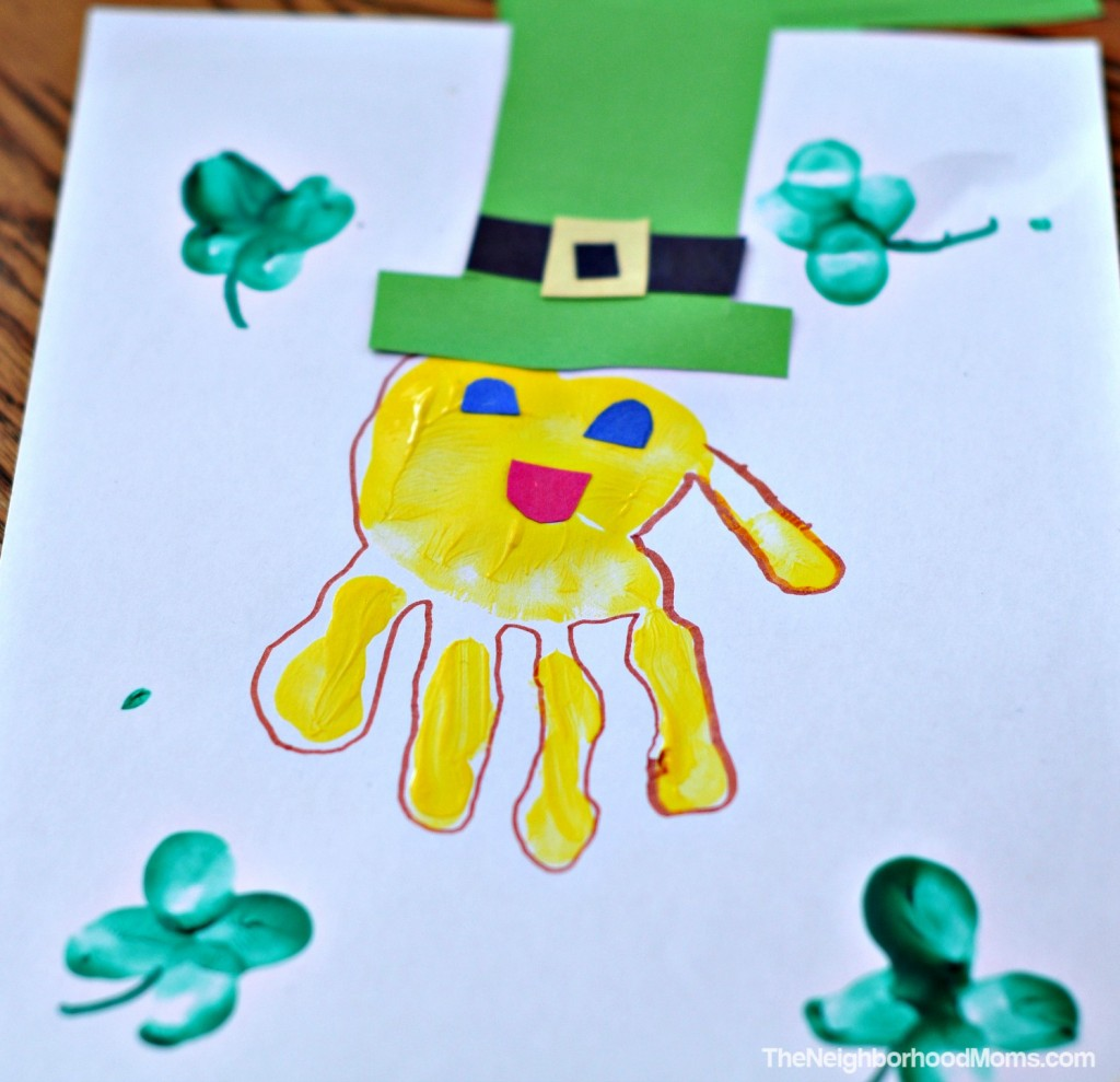 Leprechanun Handprint