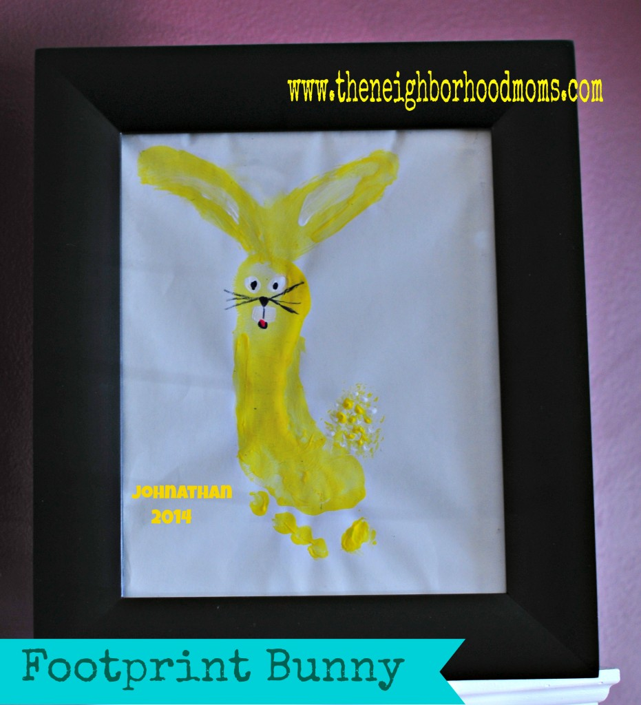 Footprint Bunny
