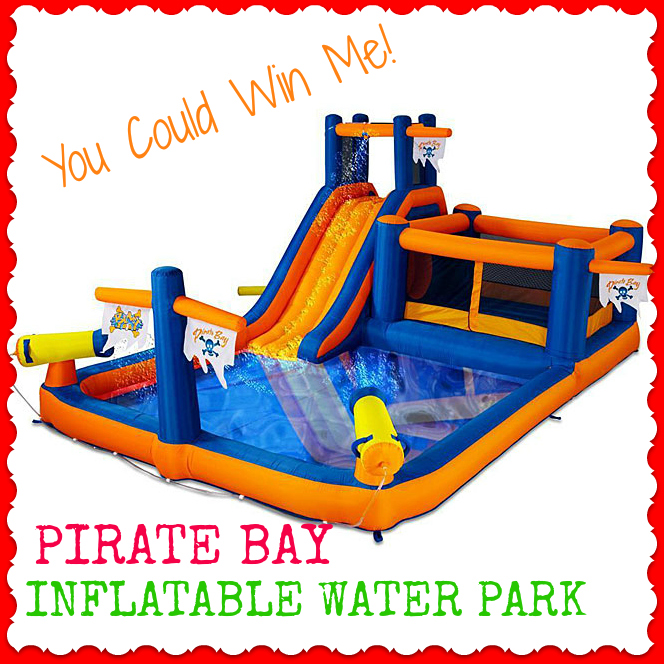 Inflatable Water Slide Safety Rules: Pirate Bay Inflatable Water Park Giveaway