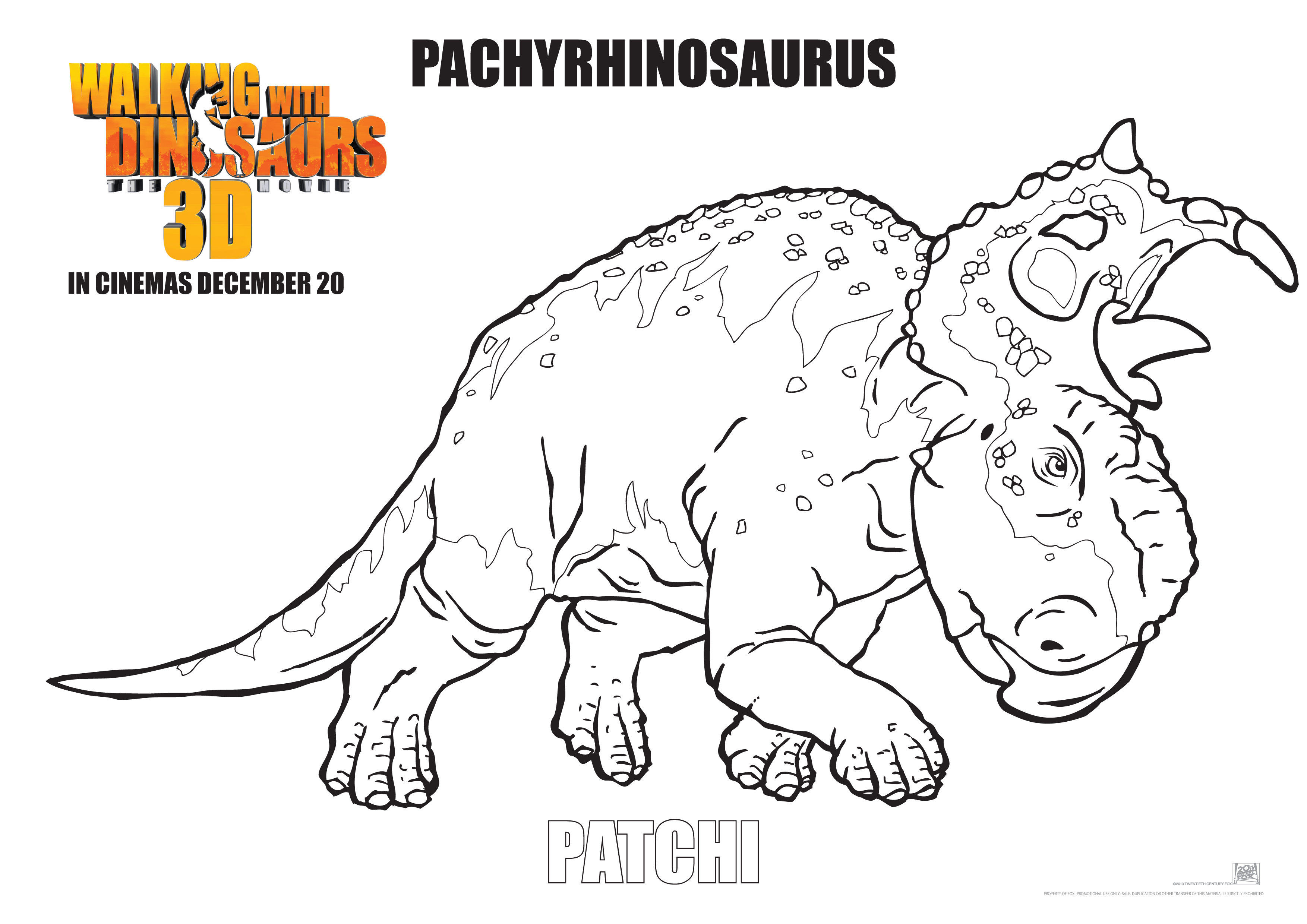 Free Coloring Pages Of Walking With Dinosaurs