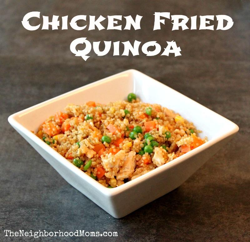 Chicken Fried Quinoa