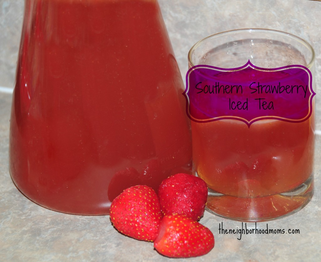 Southern Strawberry Iced Tea