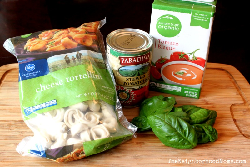 Tomato Basil with Cheese Tortellini