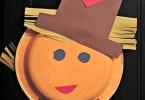 Easy Scarecrow Craft