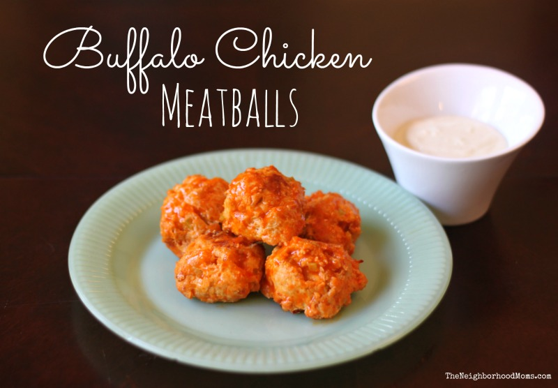 Healthy Buffalo Chicken Meatballs