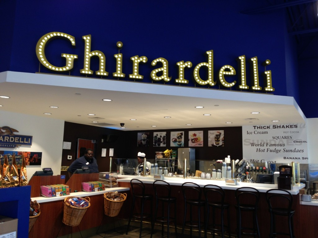 The Outlet Shoppes of the Bluegrass Ghirardelli