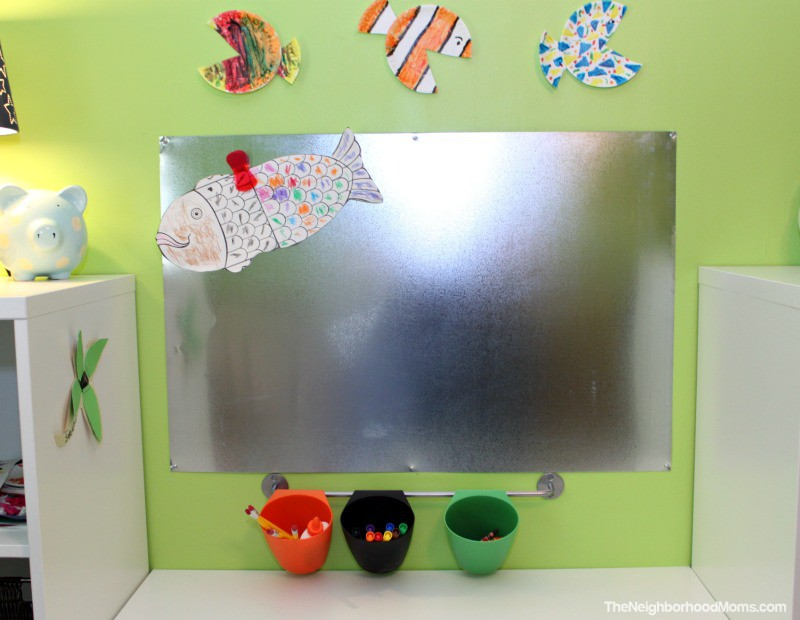 Diy Magnetic Art Wall Board The