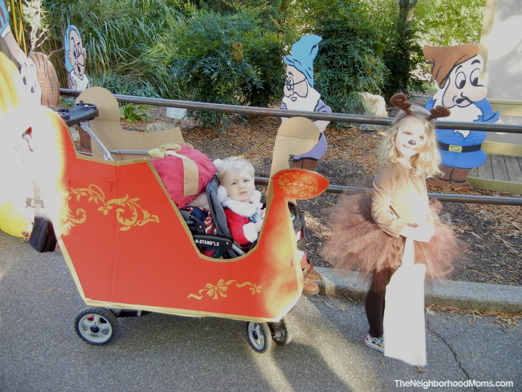 How to decorate a stroller 54