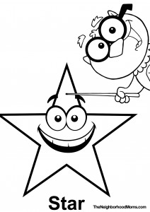 Star Printable Coloring Page