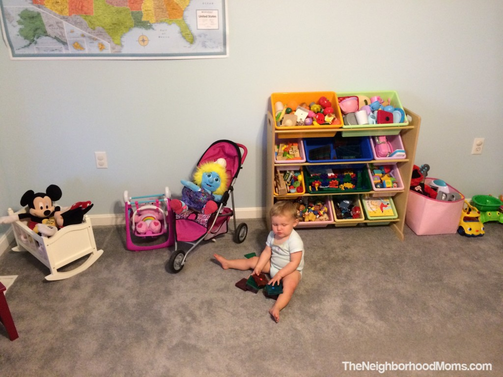 Toy rotation shelf
