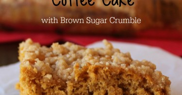 Pumpkin Spice Coffee Cake Brown Sugar Crumble