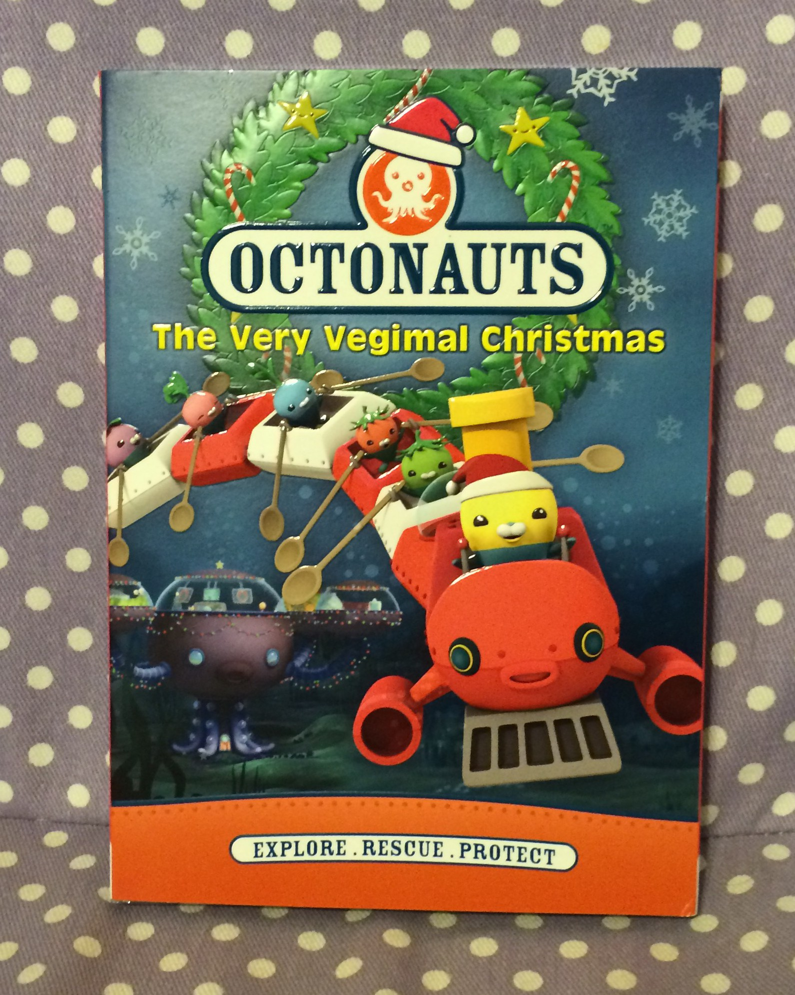Octonauts: The Very Vegimal Christmas - The Neighborhood Moms