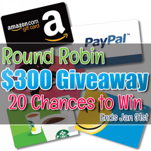 Round Robin 300 Giveaway Jan31