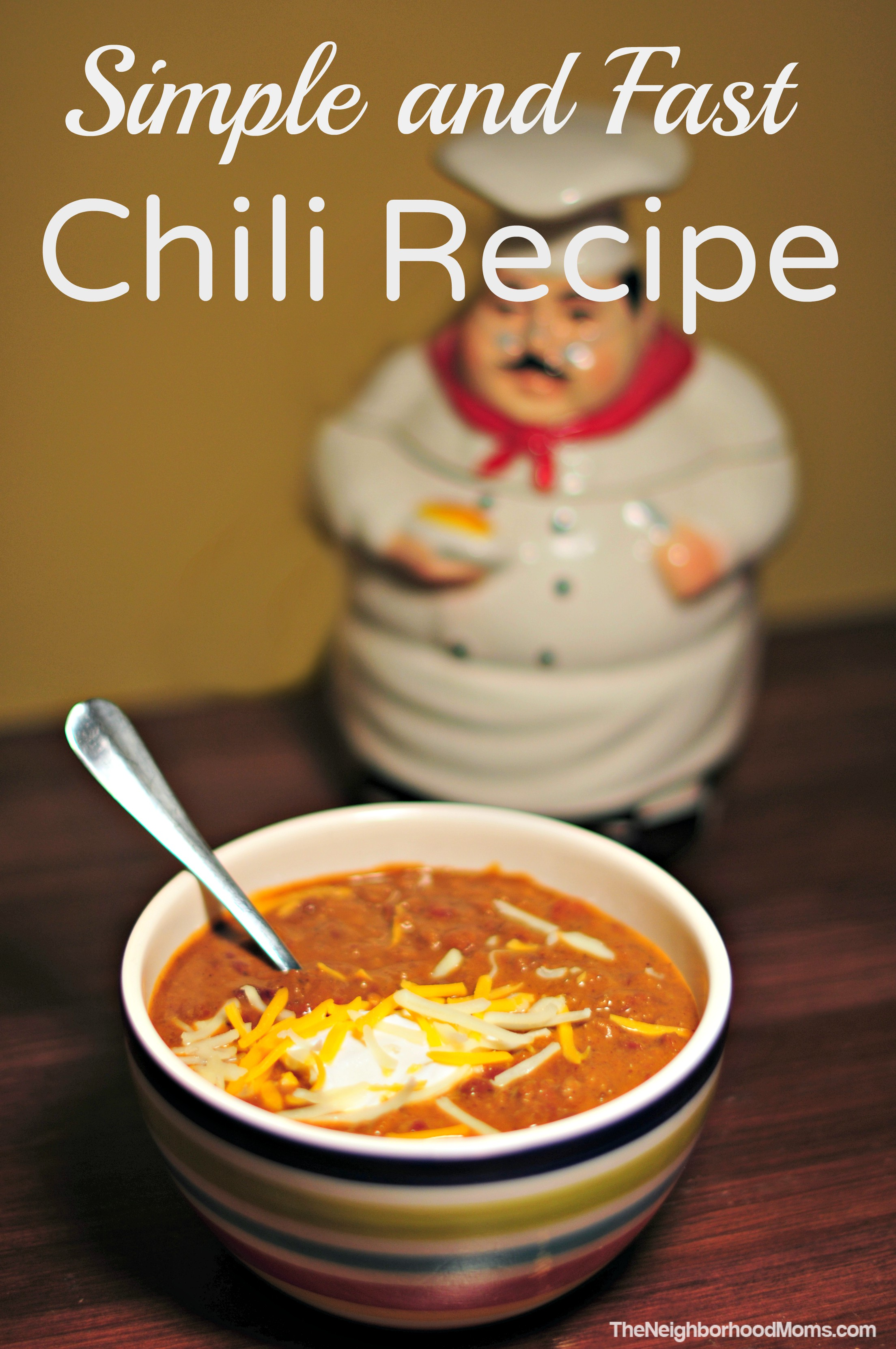 Simple and Fast Chili Recipe - The Neighborhood Moms