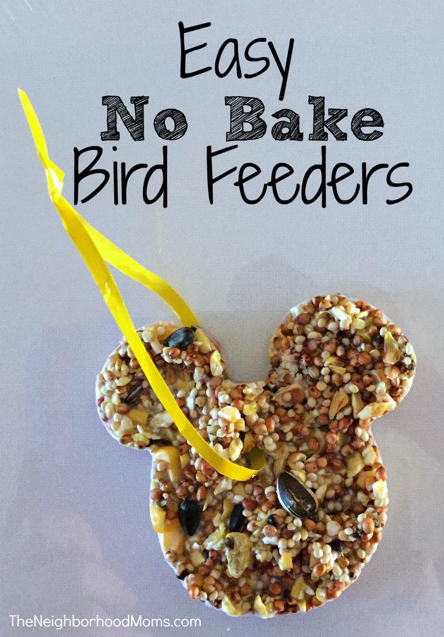 Easy No Bake Bird Feeders The Neighborhood Moms
