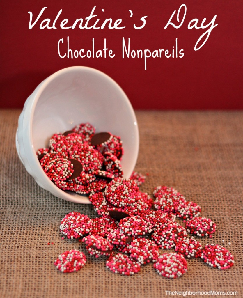 Homemade Chocolate Nonpareils Snocaps