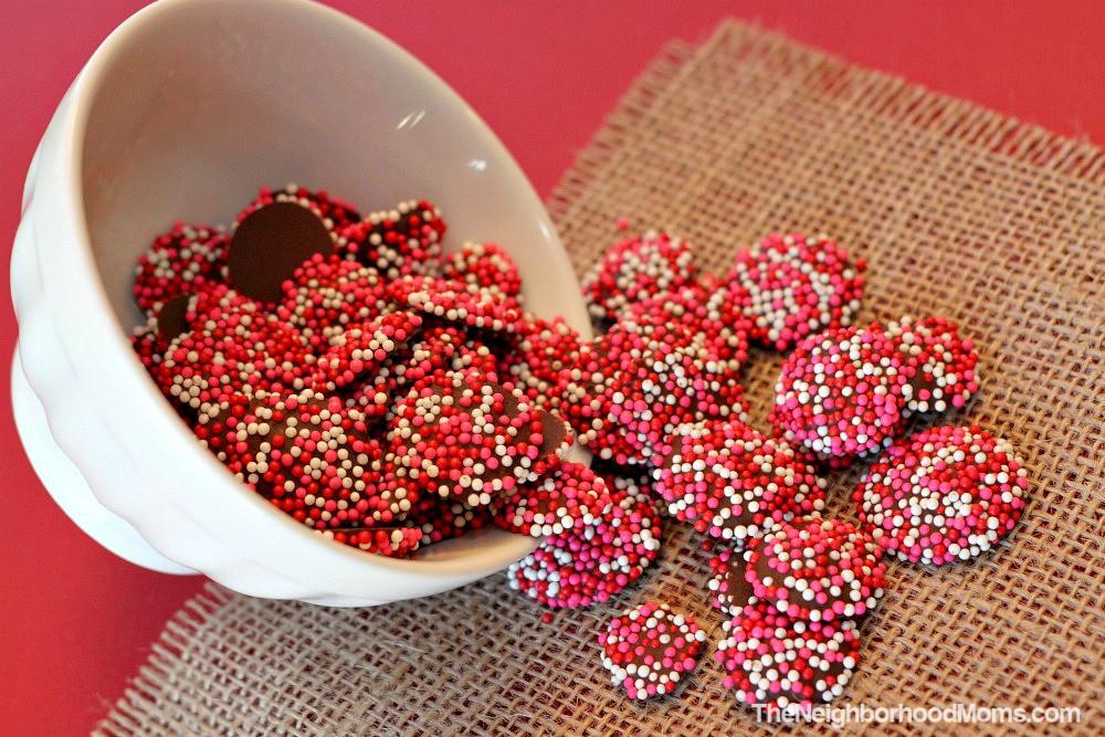 Homemade Chocolate Nonpareils Snocaps