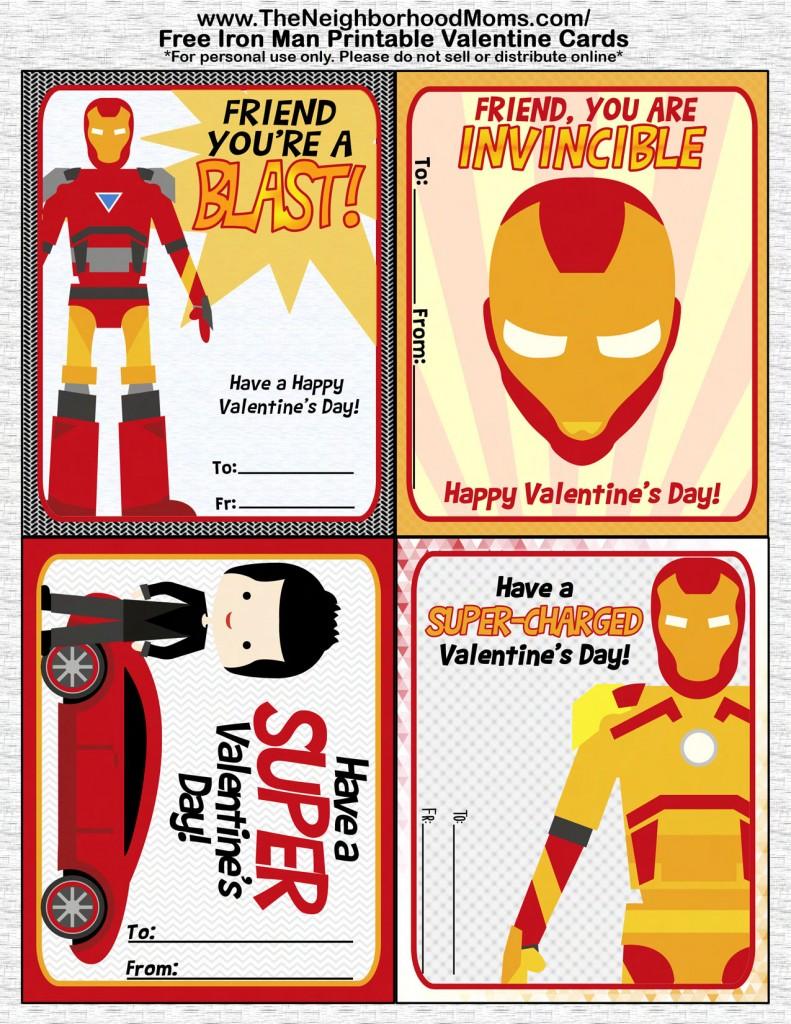 IronMan Valentines