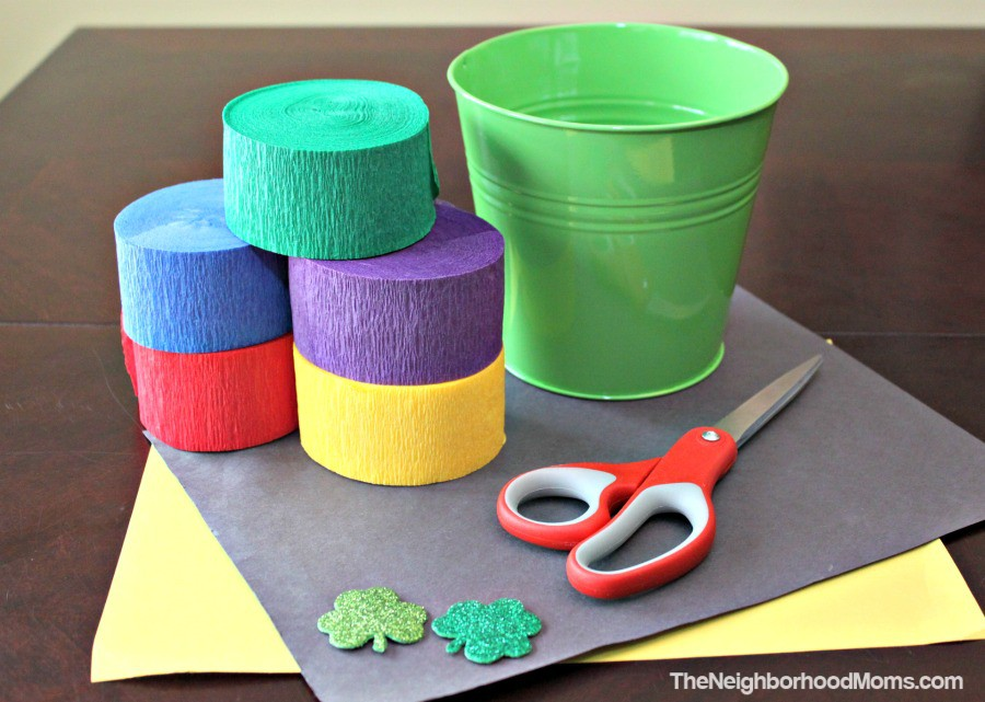 St. Patrick Windsock Mobile Craft