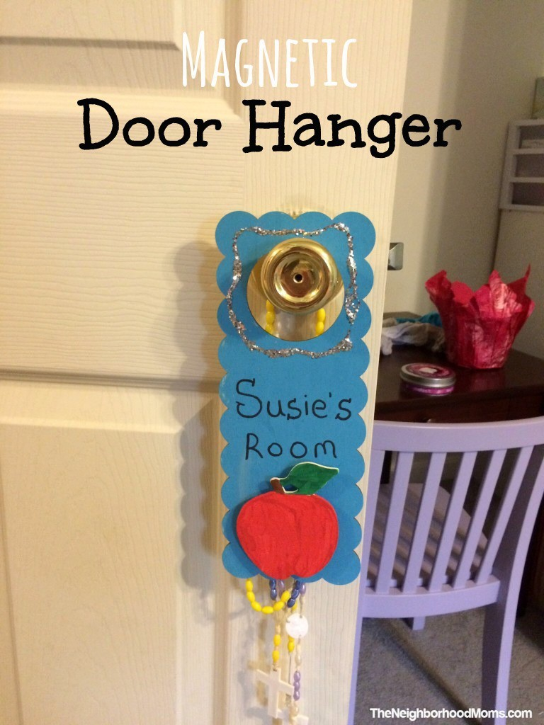 DIY Magnetic Door Hanger