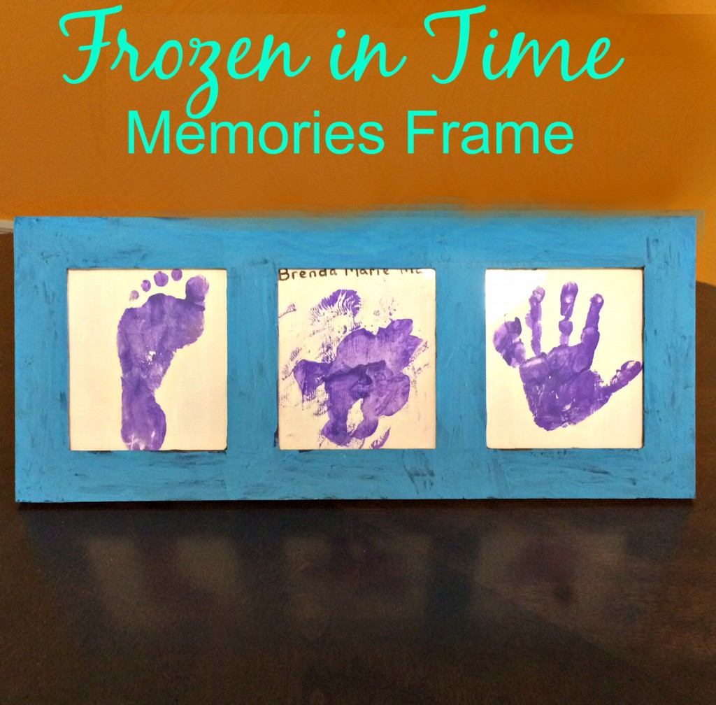 Frozen in Time Memories Frame - an easy DIY memory frame