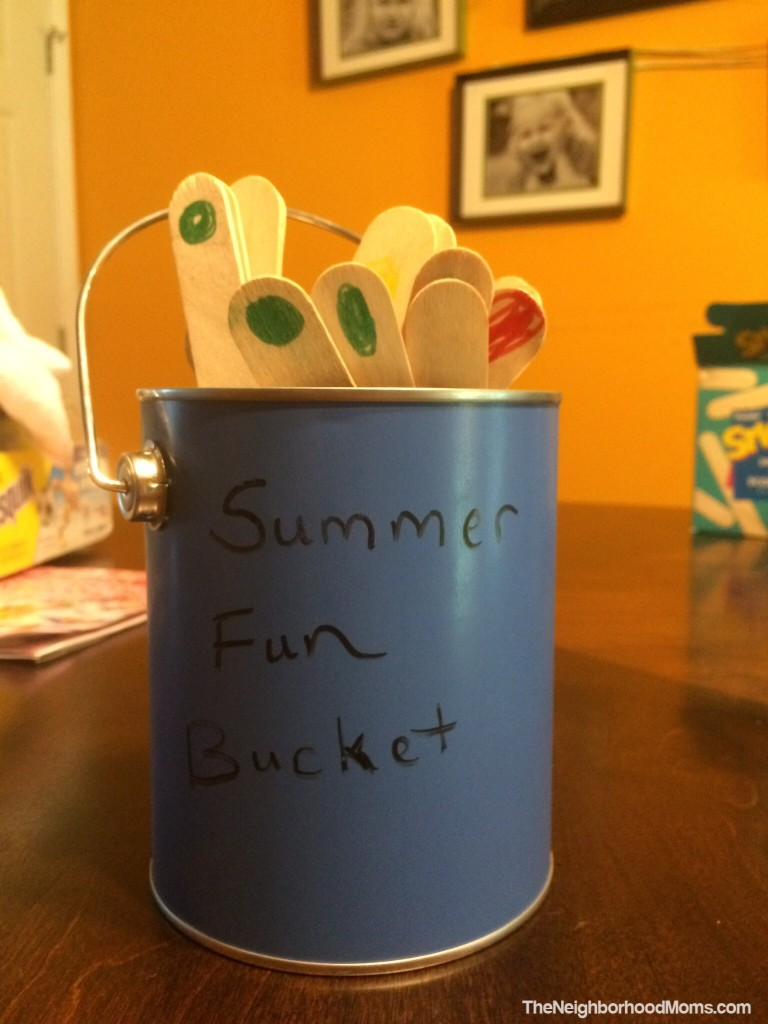 Popsicle Summer Bucket List - Easy to make and fun to use Bucket List for Kids!