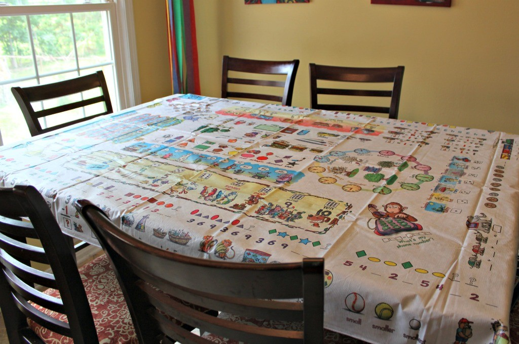 Table Time Look and Learn