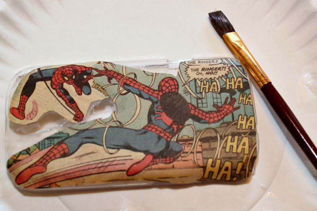 Comic Book Phone Case Cover