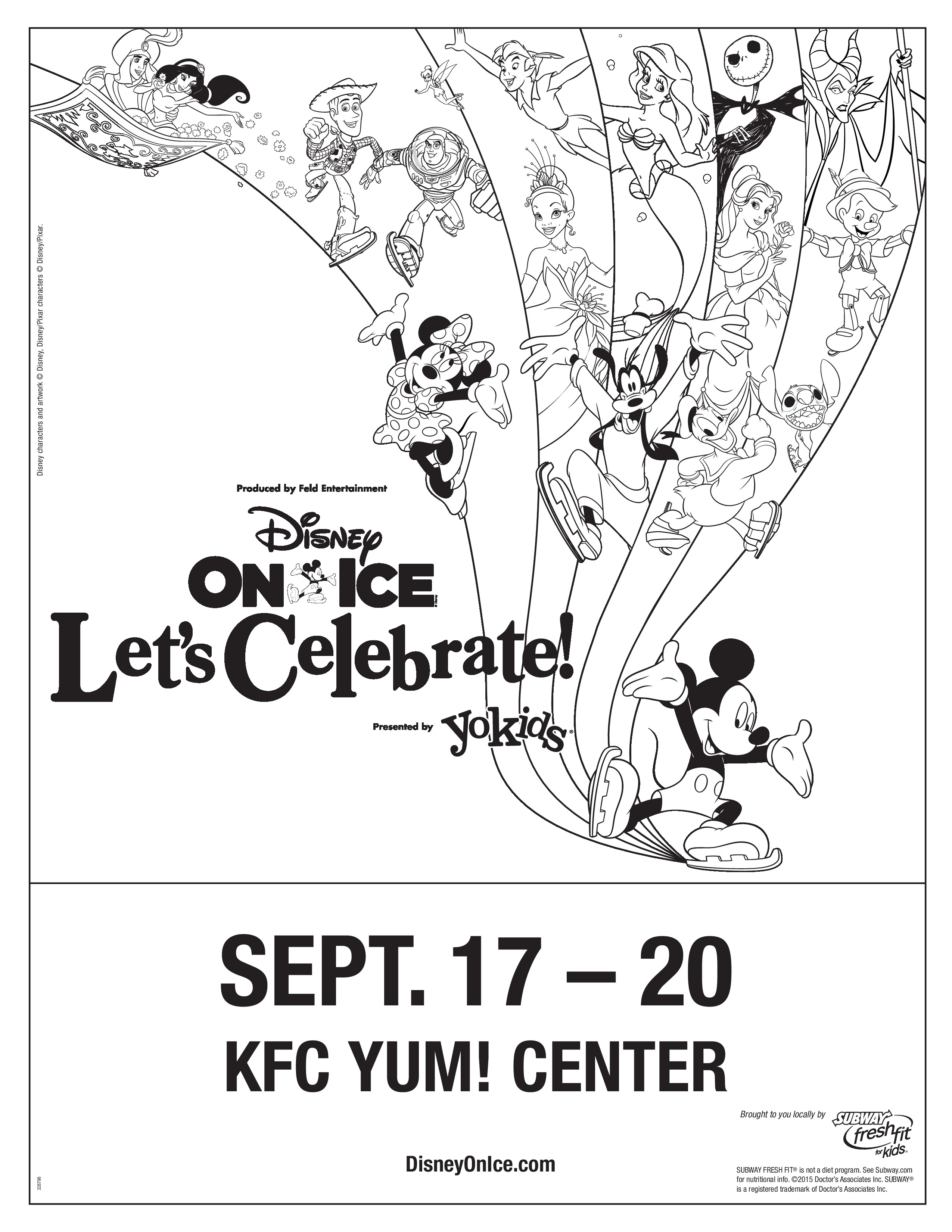 Disney On Ice Presents Lets Celebrate Giveaway