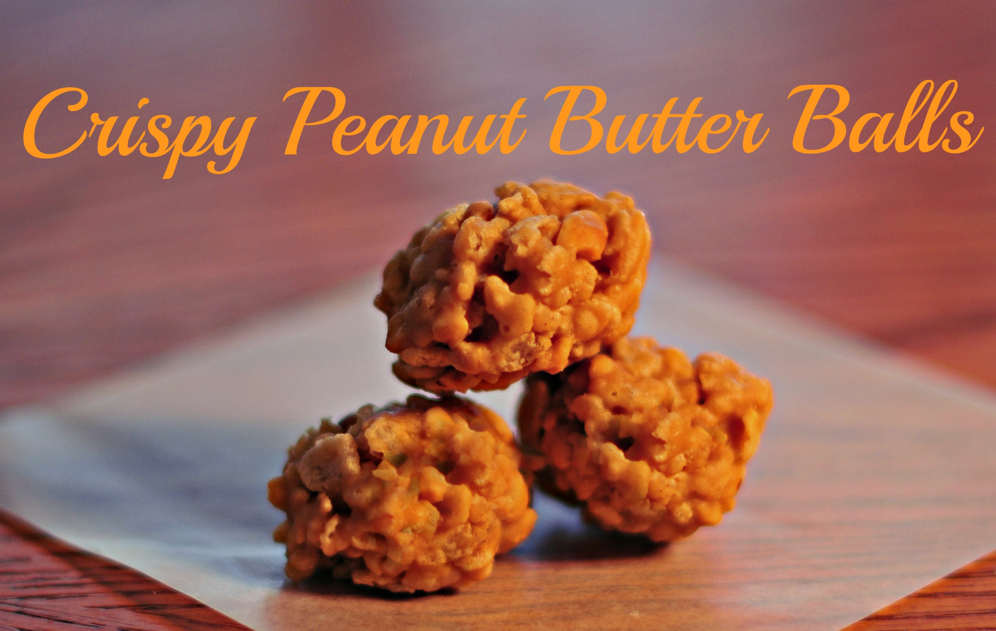 Crispy Peanut Butter Balls Recipe - The Neighborhood Moms