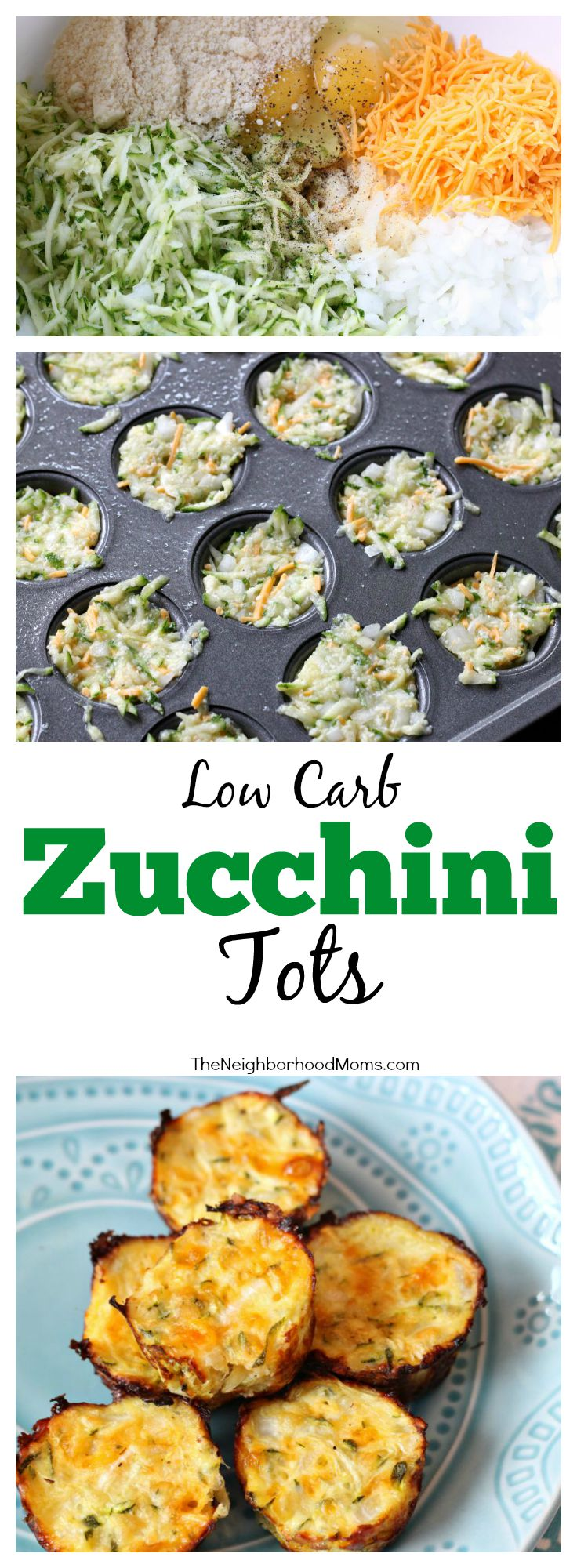 Low Carb Zucchini Tots - The Neighborhood Moms