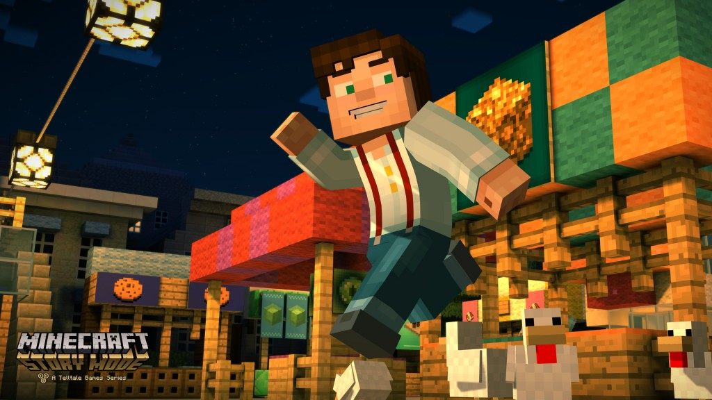 Minecraft Story Mode Giveaway