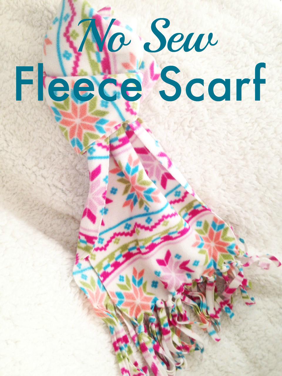 Fleece Scarf Craft