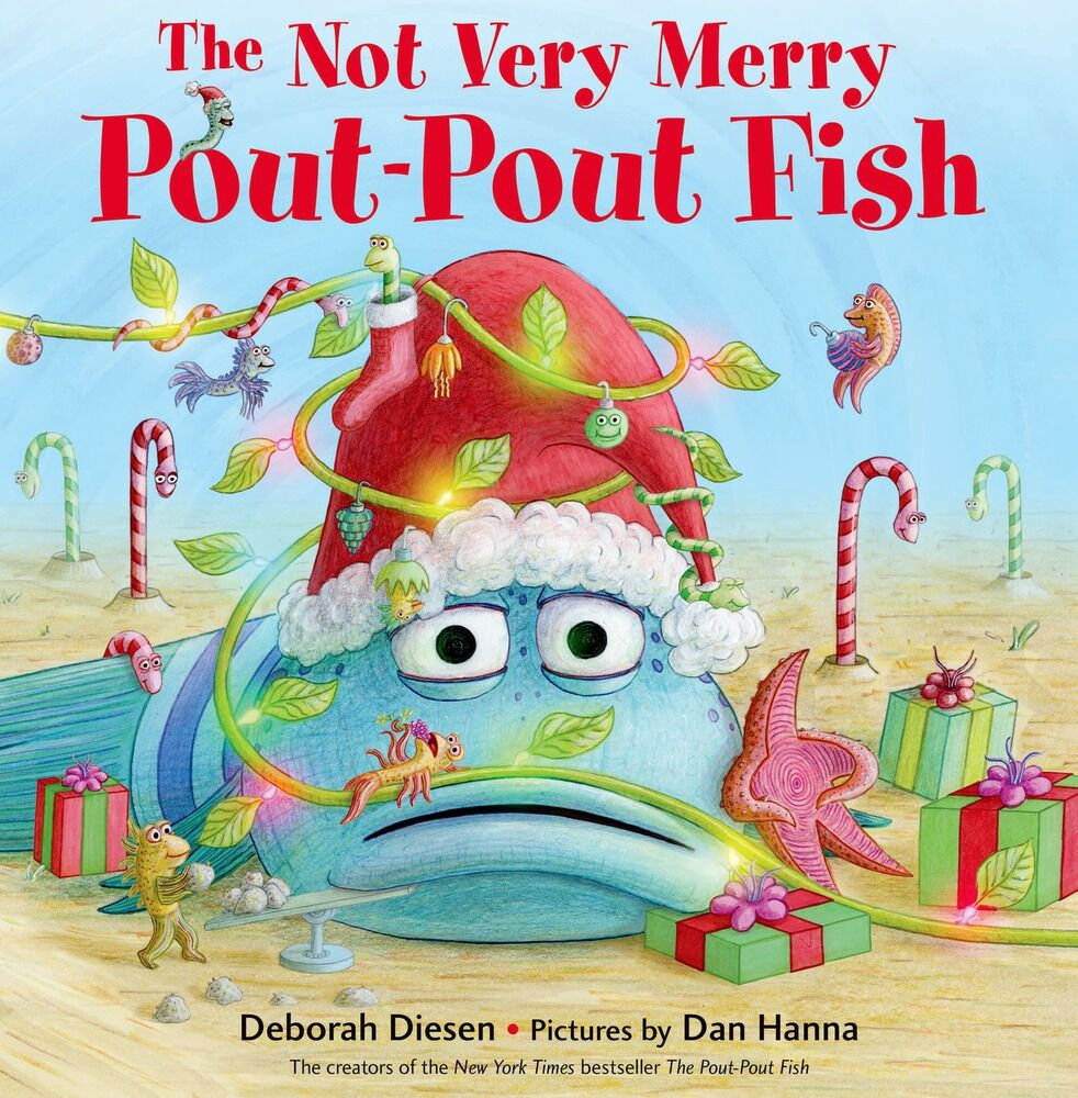 The not very merry pout pout fish book the neighborhood moms for The pout pout fish book
