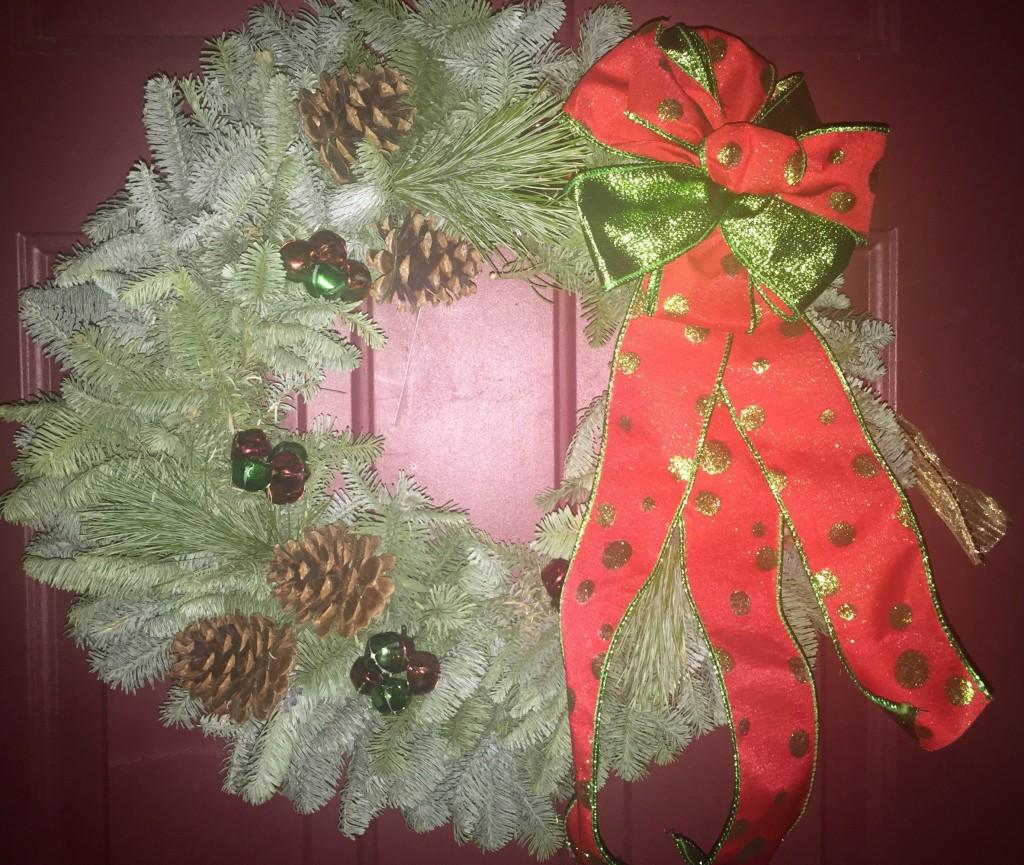 Live Christmas Wreath Giveaway
