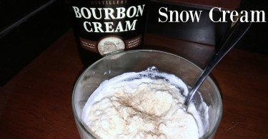 Bourbon Snow Cream Buffalo Trace