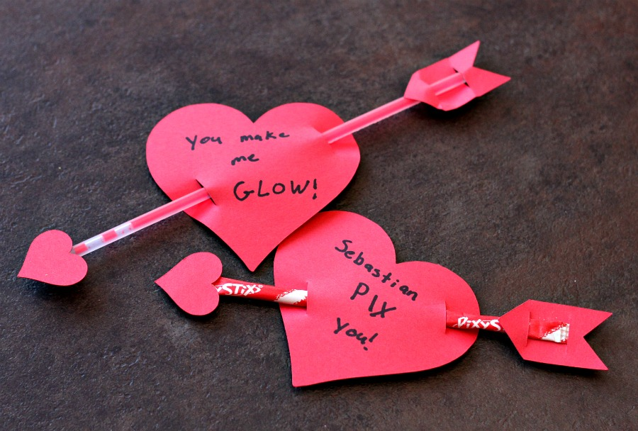 Valentine S Heart Arrows With Silhouette Cut File The Neighborhood Moms
