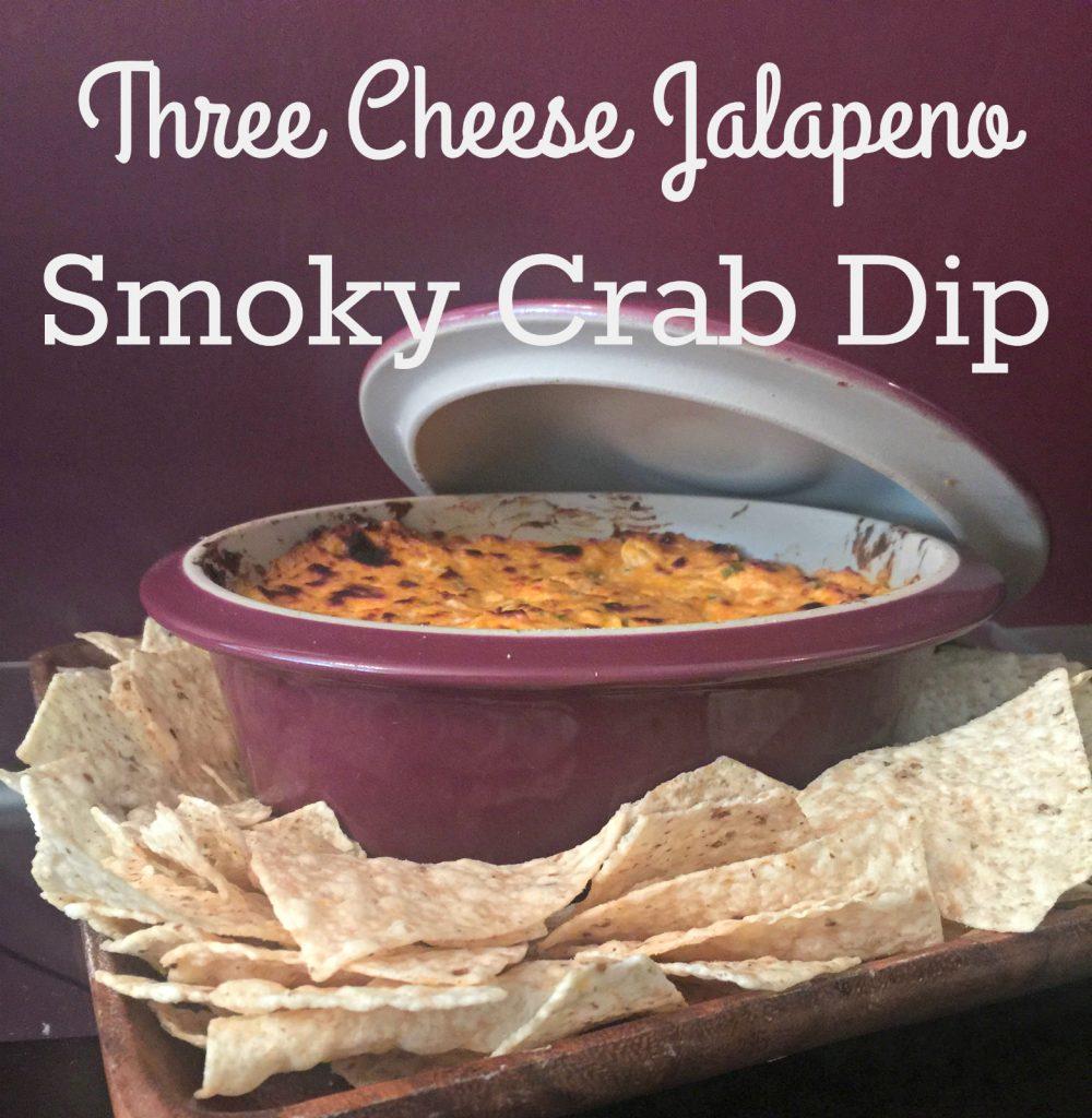 Three Cheese Jalapeno Smoky Crab Dip