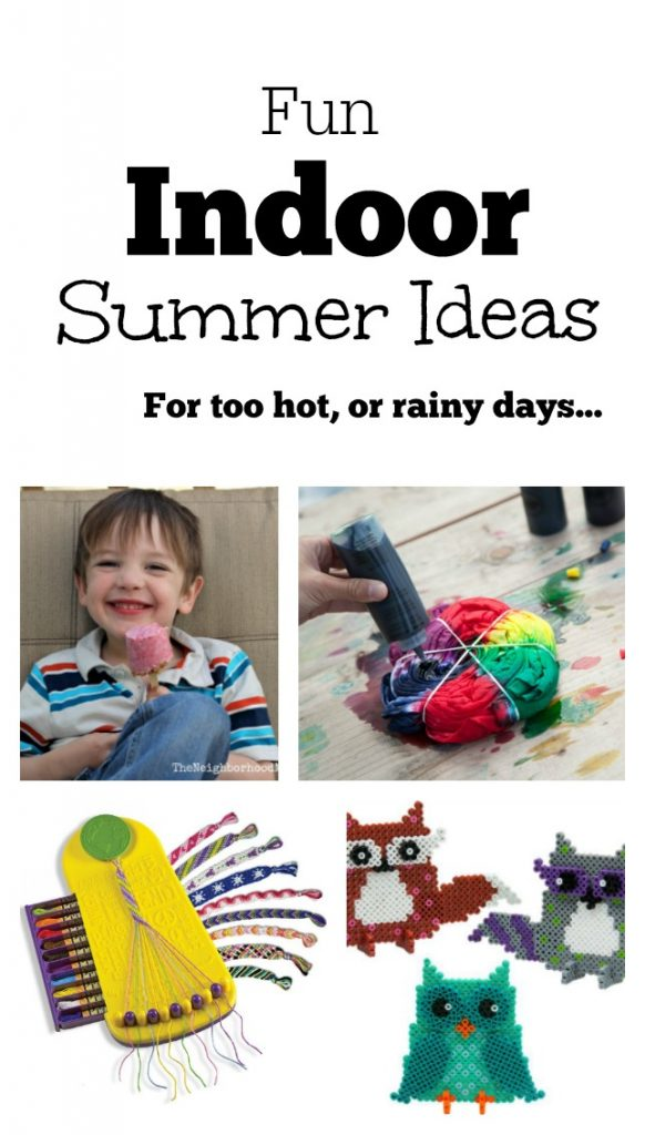 Fun Indoor Summer Ideas