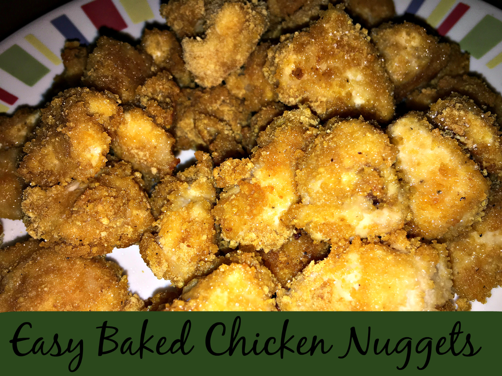 Easy Baked Chicken Nuggets - The Neighborhood Moms