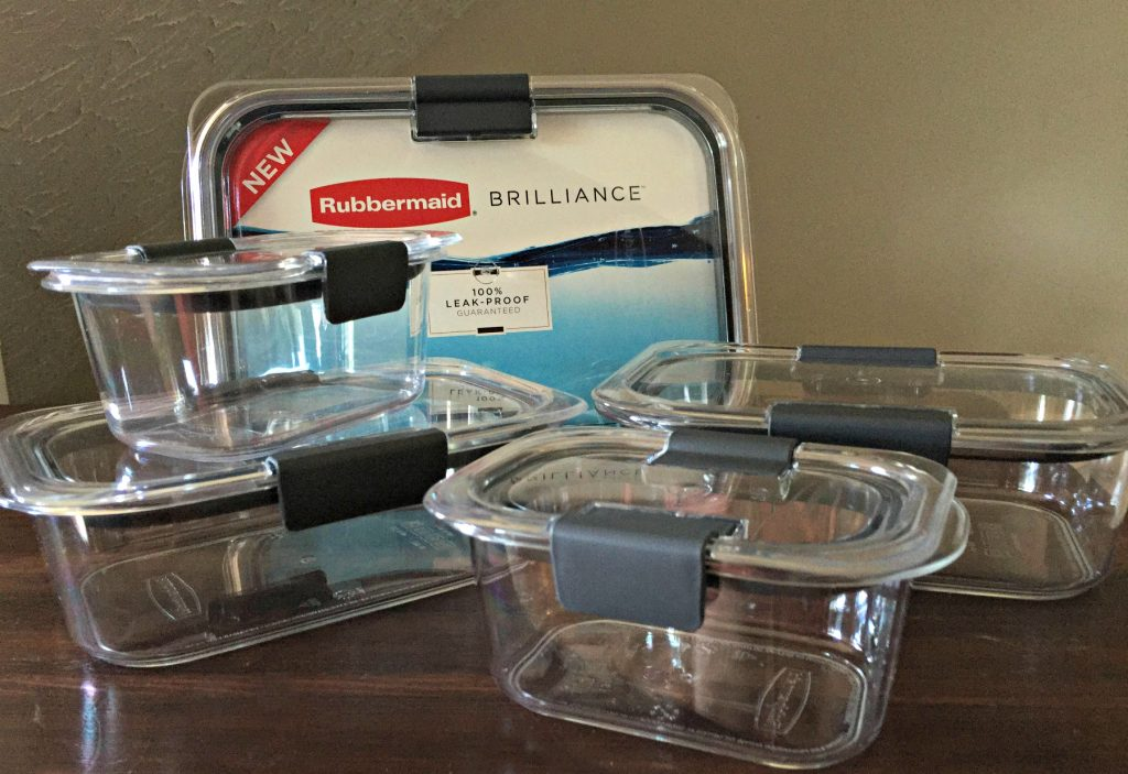 Rubbermaid Brilliance Food Storage Container Set 22 Piece Clear Stunning LeakProof Food Storage Containers The Neighborhood Moms