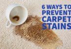 Prevent Carpet Stains