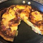Low Carb Ham Brie Frittata