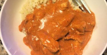 Chicken Tikka Masala Keto