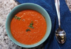 Low Carb Tomato Basil Soup